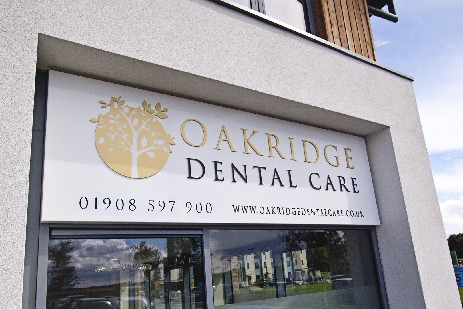 Oakridge Dental Care Outside