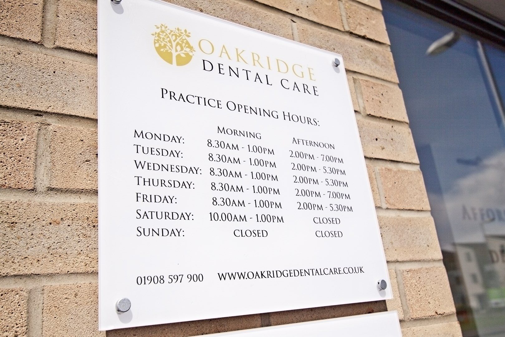 Oakridge Dental Care Opening Hours