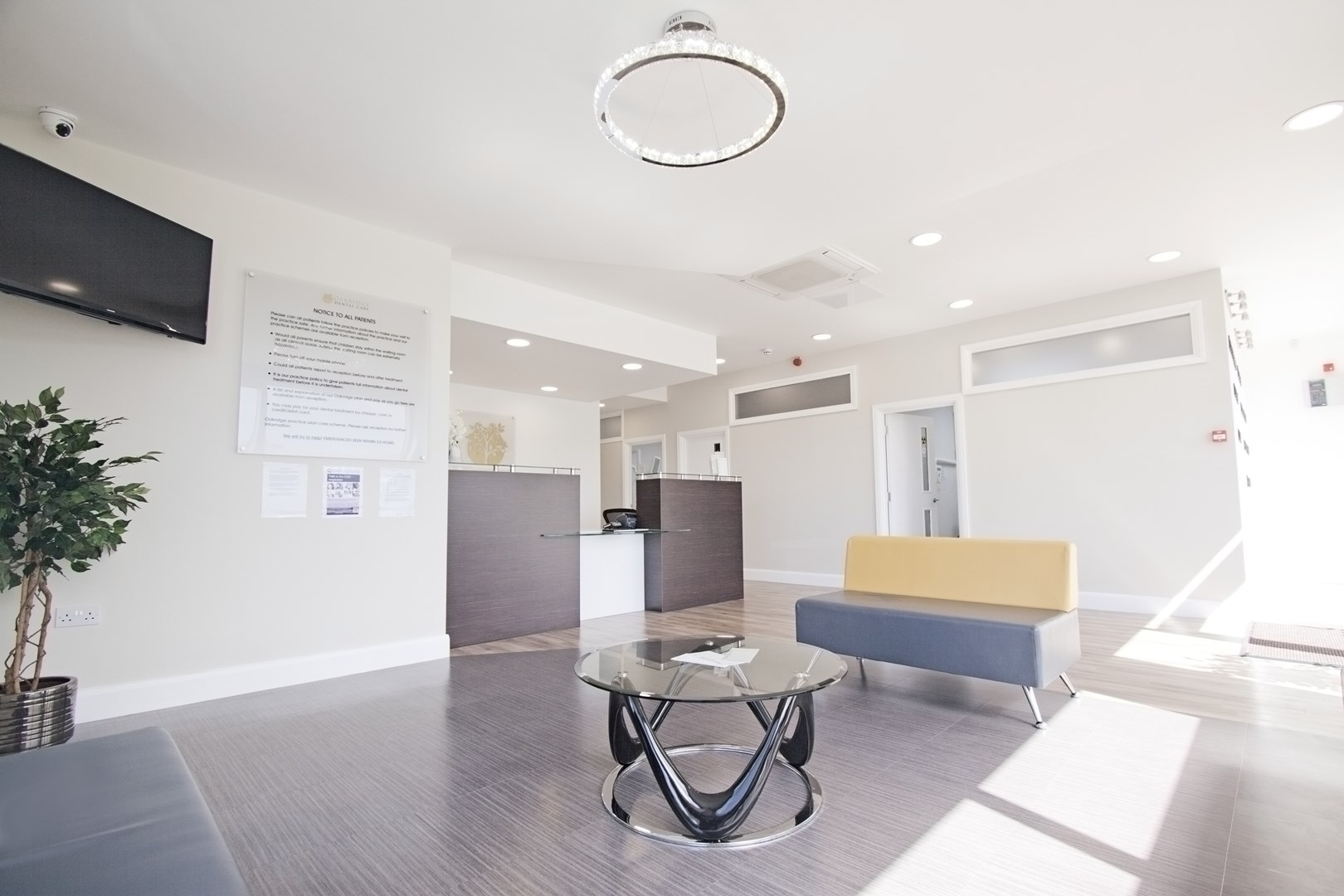 Oakridge Dental Care Foyer